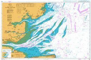 Map Of England East Coast.British Admiralty Nautical Chart 1183 England East Coast Thames
