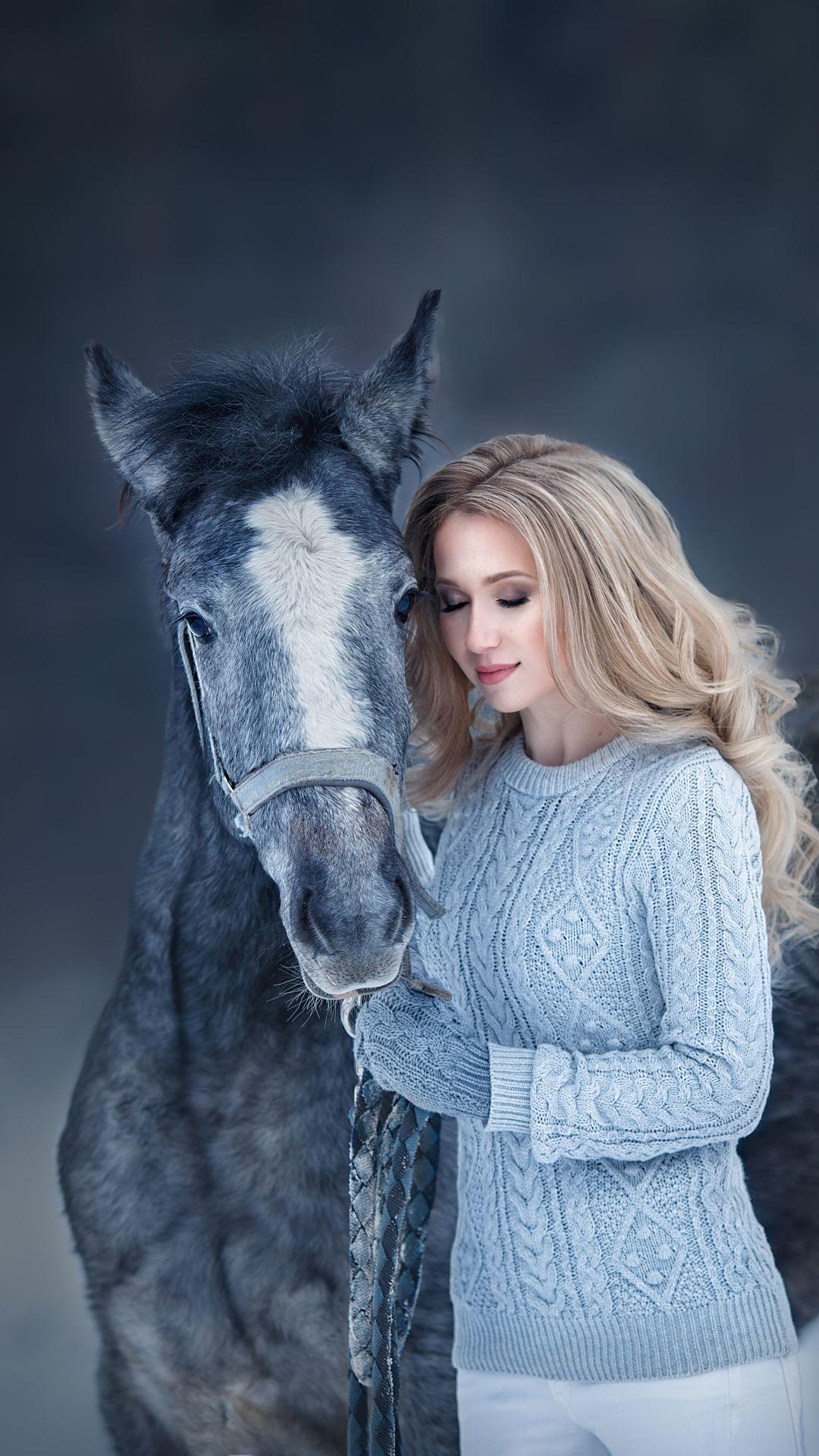 фотосессия с лошадью. Зимняя фотосессия. Winter ...
