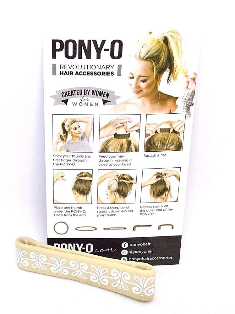 PONY-O HAIR Designer Tie Band Clip Champagne Blonde PONYO Ponytail As Seen  TV   535e9d09bed