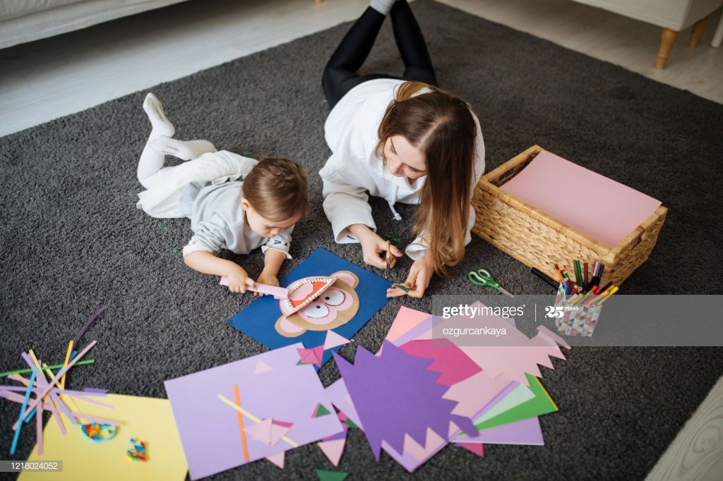 Happy Family Is Painting Together Work Photography Photographers Near Me Family Is