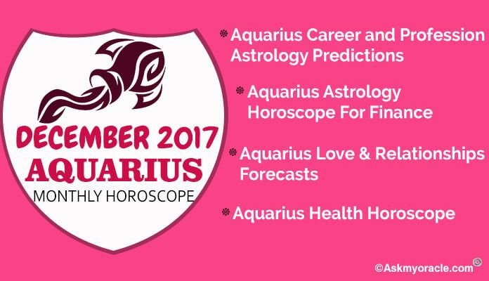 aquarius monthly december horoscope