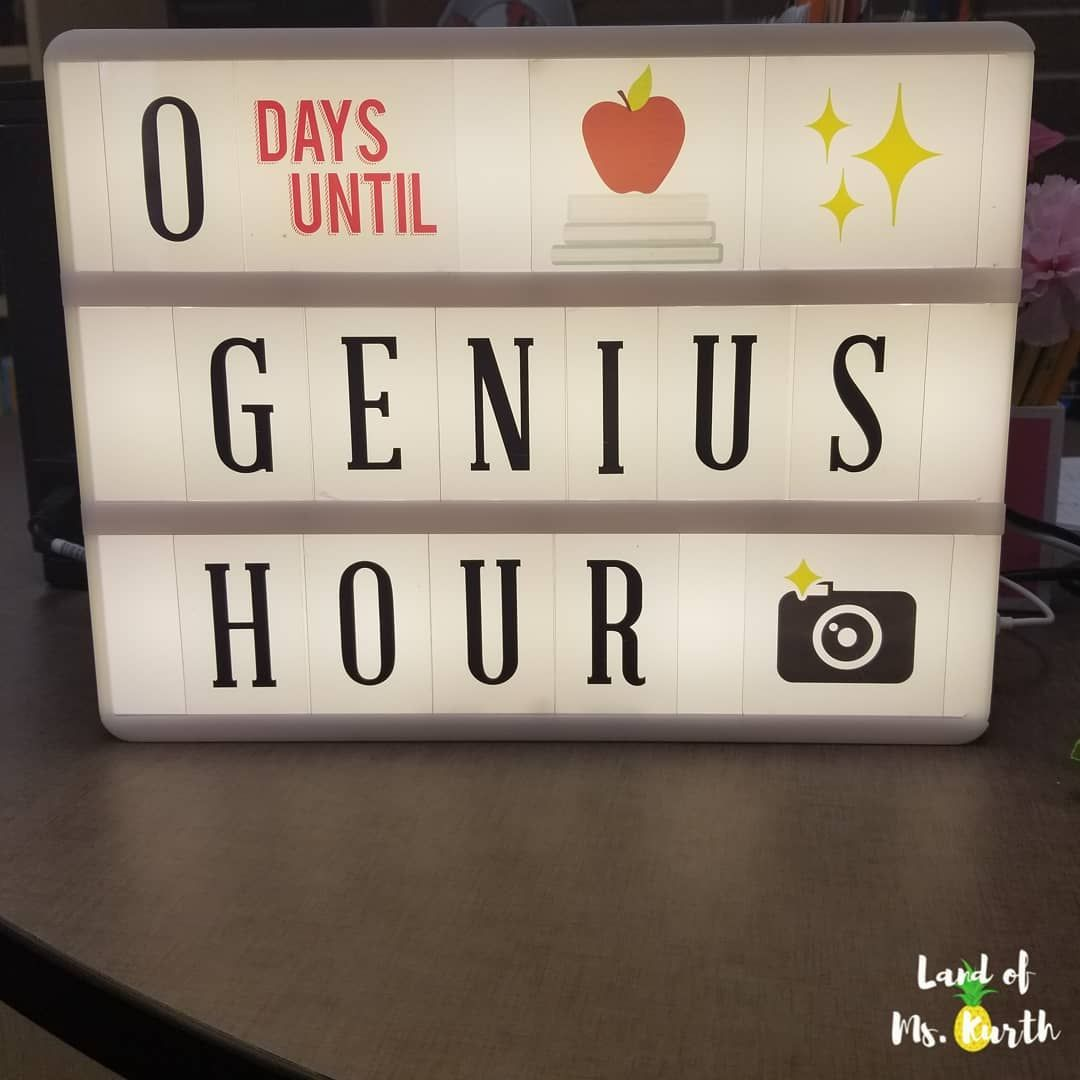 What Is Genius Hour And How Can I Try It In My Classroom