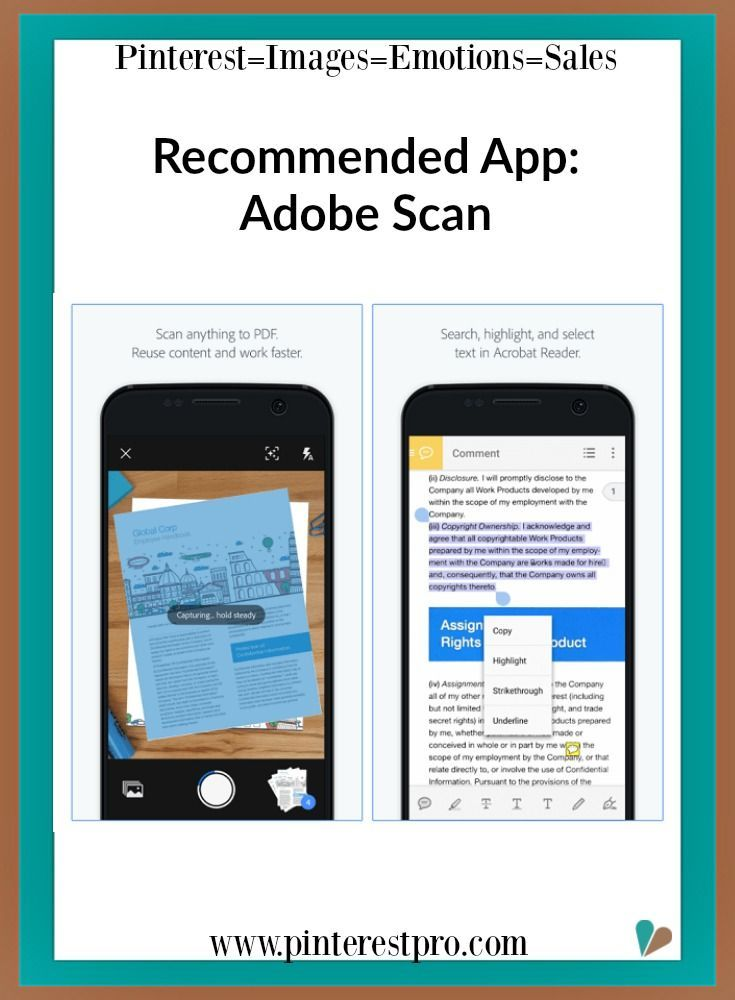 Adobe Scan is the free scan app with text recognition
