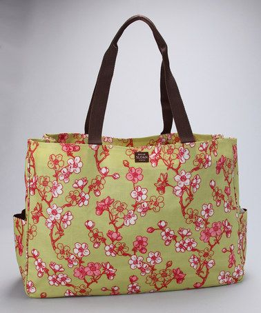 Kiwi Sophie Everyday Tote by Emilie Sloan.  Functional and Fashionable carries everyday essentials, files, laptop, groceries, etc.... the possibilities are endless!