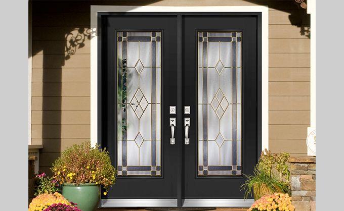 Porte d\u0027entrée extérieur en acier conçue selon vos goûts Portes - choisir une porte d entree