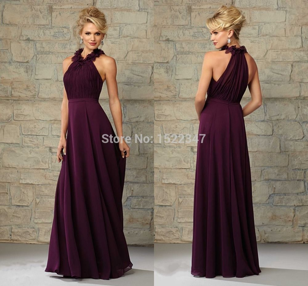 Damson Coloured Bridesmaid Dresses With Sleeves Google Search
