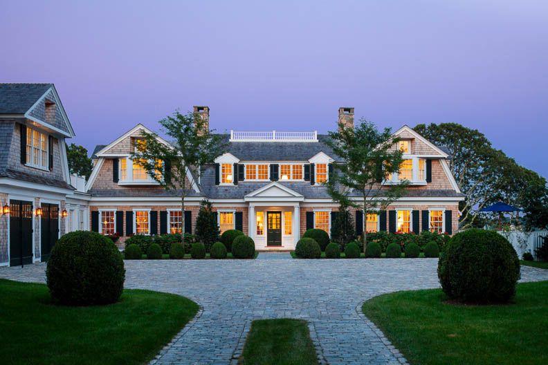 Coastal New England Harbor House New England Style Homes England Houses Preppy House