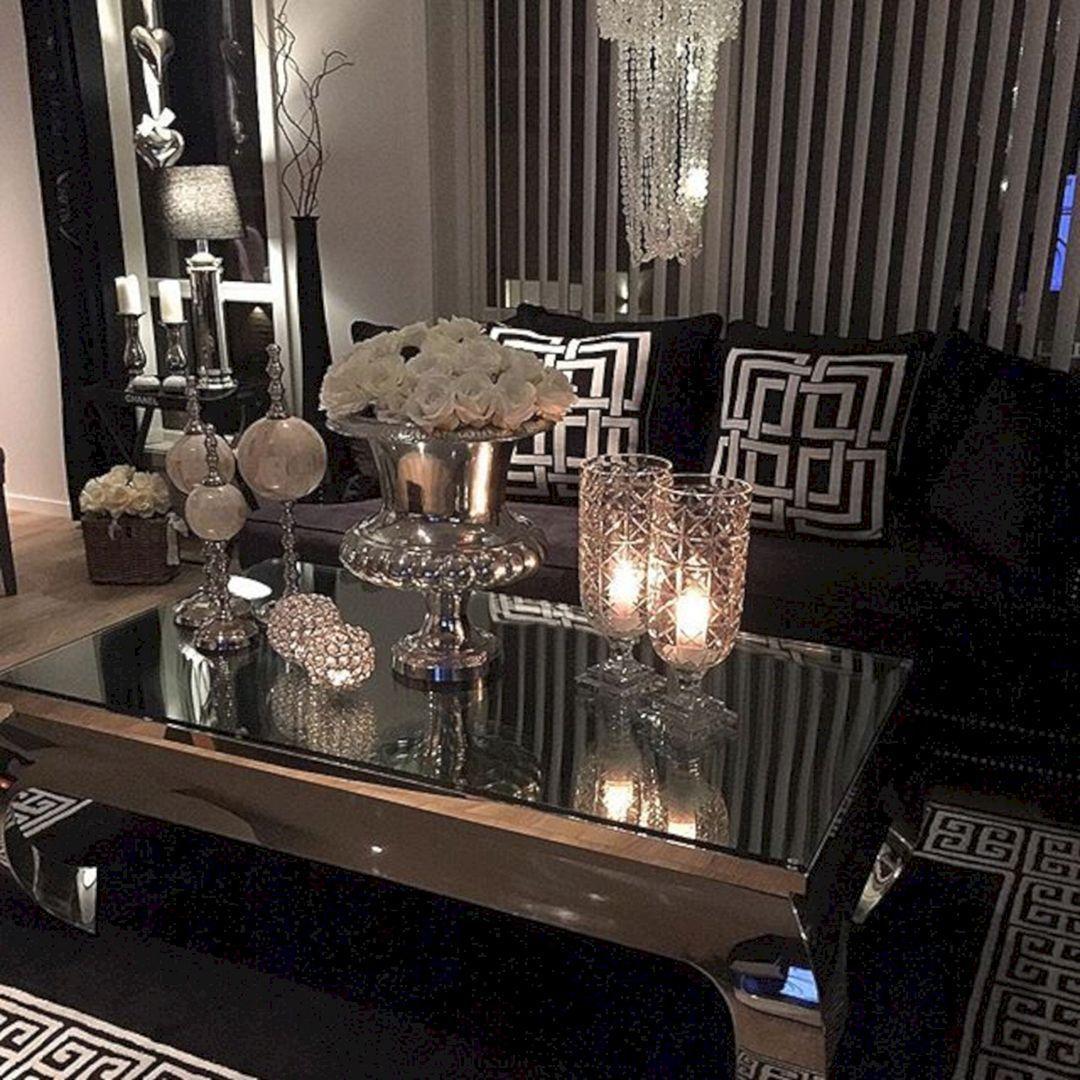 80 Stunning Small Living Room Decor Ideas For Your Apartment 034 Living Room Decor Apartment Glam Living Room Modern Glam Living Room #small #glam #living #room