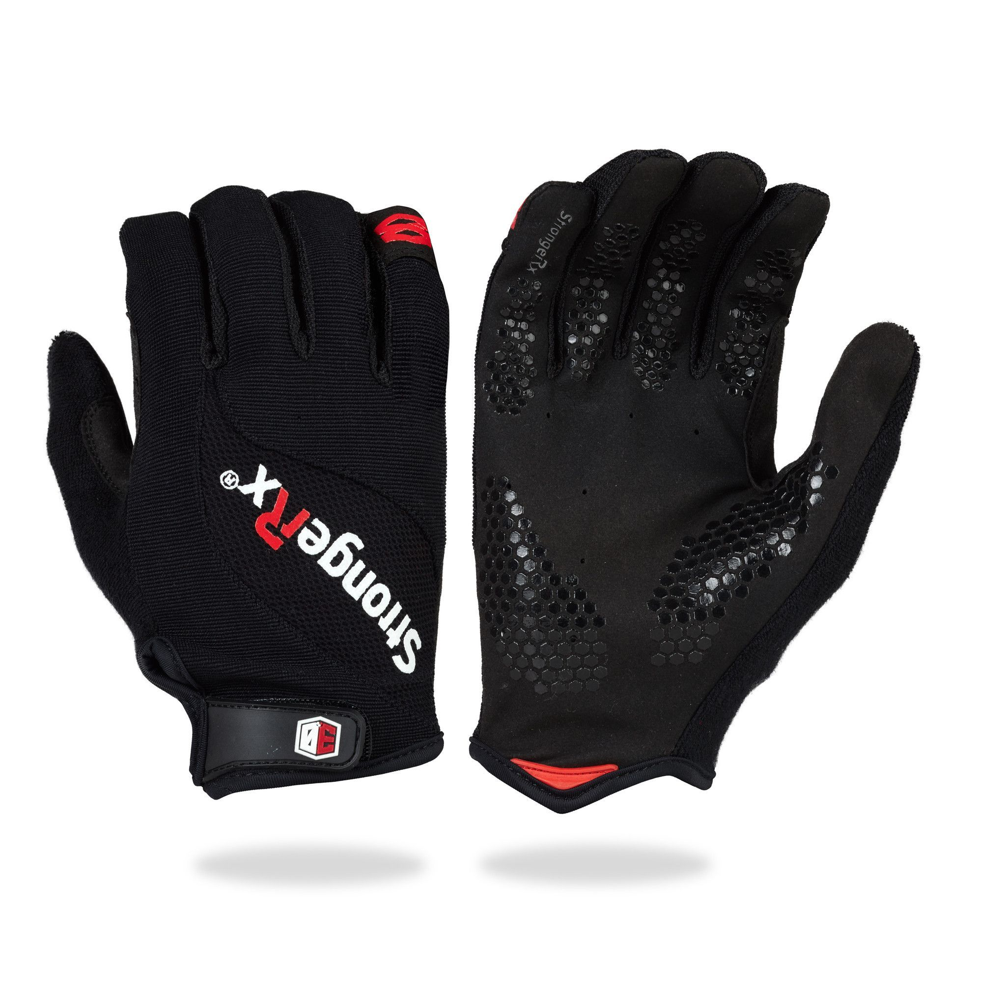 StrongerRx 3.0 WOD Fitness Gloves / Black