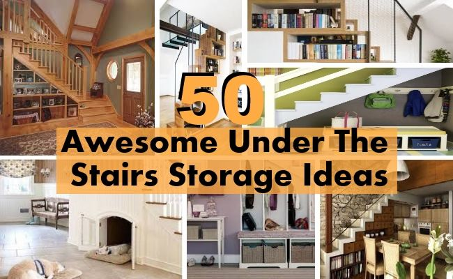 50 Awesome Under The Stairs Storage Ideas