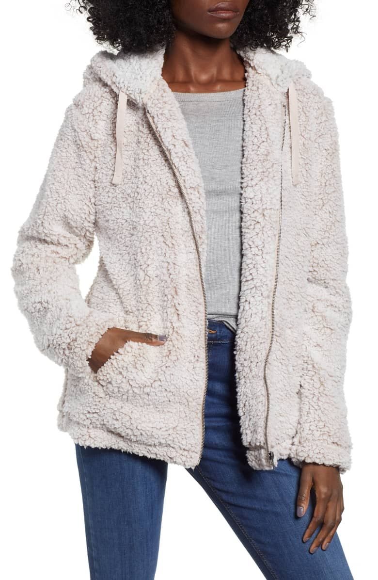 Brandon fleece jacket main color smoke rose gift list