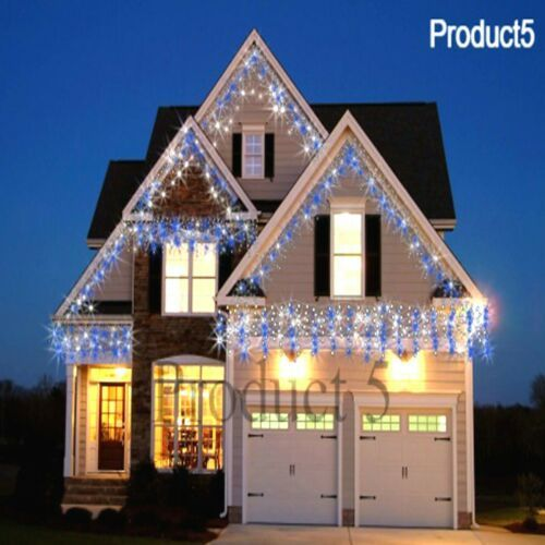 Icicle Snowing Effect Lights Christmas Xmas LED 960/720/480/1200/ Outdoor/Indoor GBP 15.95#christmas #effect #gbp #icicle #indoor #led #lights #outdoor #outdoorindoor #snowing #xmas