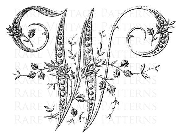 french alphabet stencil large letter w monogram initial png transparent and jpg white. Black Bedroom Furniture Sets. Home Design Ideas