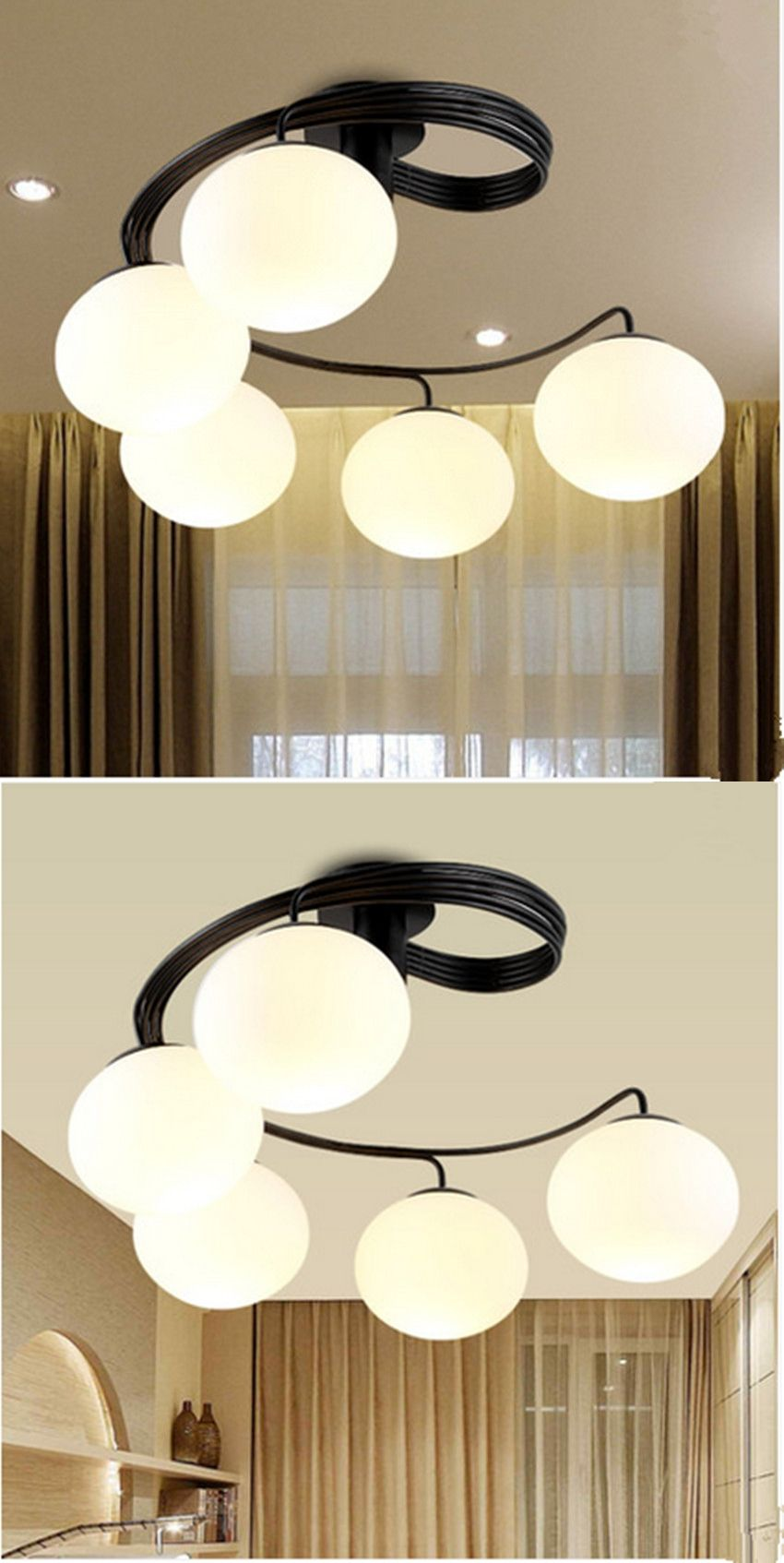 Cozy Bedroom Modern Minimalist Led Ceiling Lights Stylish Restaurant Kids Room Lighting Study Children Indoor