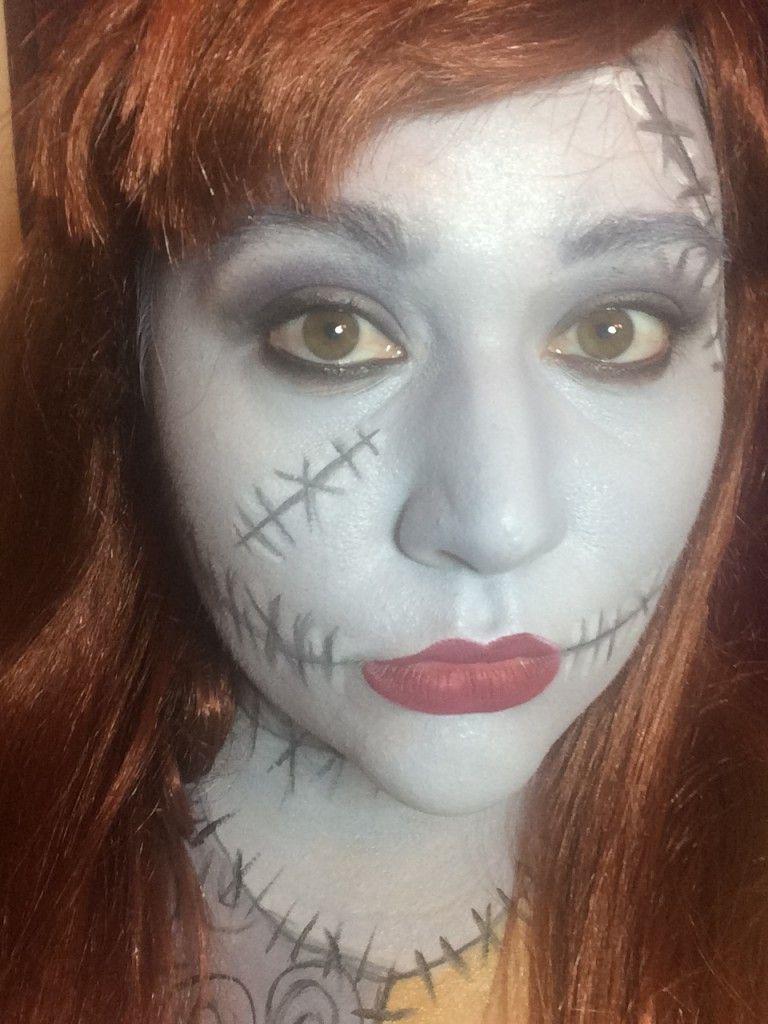 Nightmare Before Christmas | HALLOWEEN MAKEUP | Pinterest | Sally ...