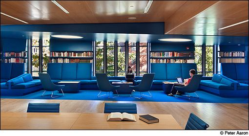 JSA Wins ALA IIDA Library Interior Design Award Photographs By Peter Aaron