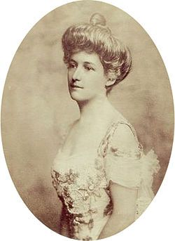 Lucile Carter was the wife of William Ernest Carter, an extremely wealthy American who inherited a fortune from his father. Both were passengers on the RMS Titanic and both survived the disaster. She was said to be one of the heroines of the tragedy as she, with some of the other socially elite women, assisted in the rowing of one of the Titanic lifeboats.
