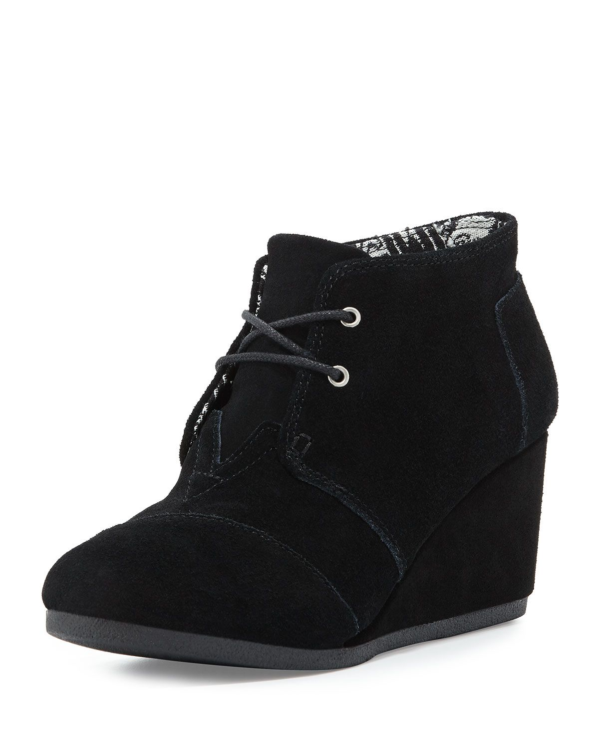 61087f5a97d Suede Desert Wedge Boot