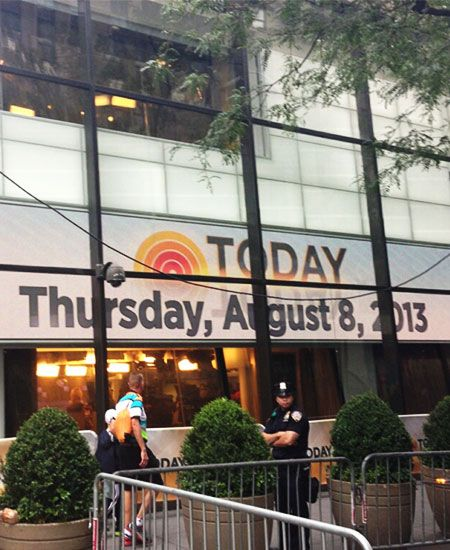 The Today Show - Went Here On My 16th Birthday!