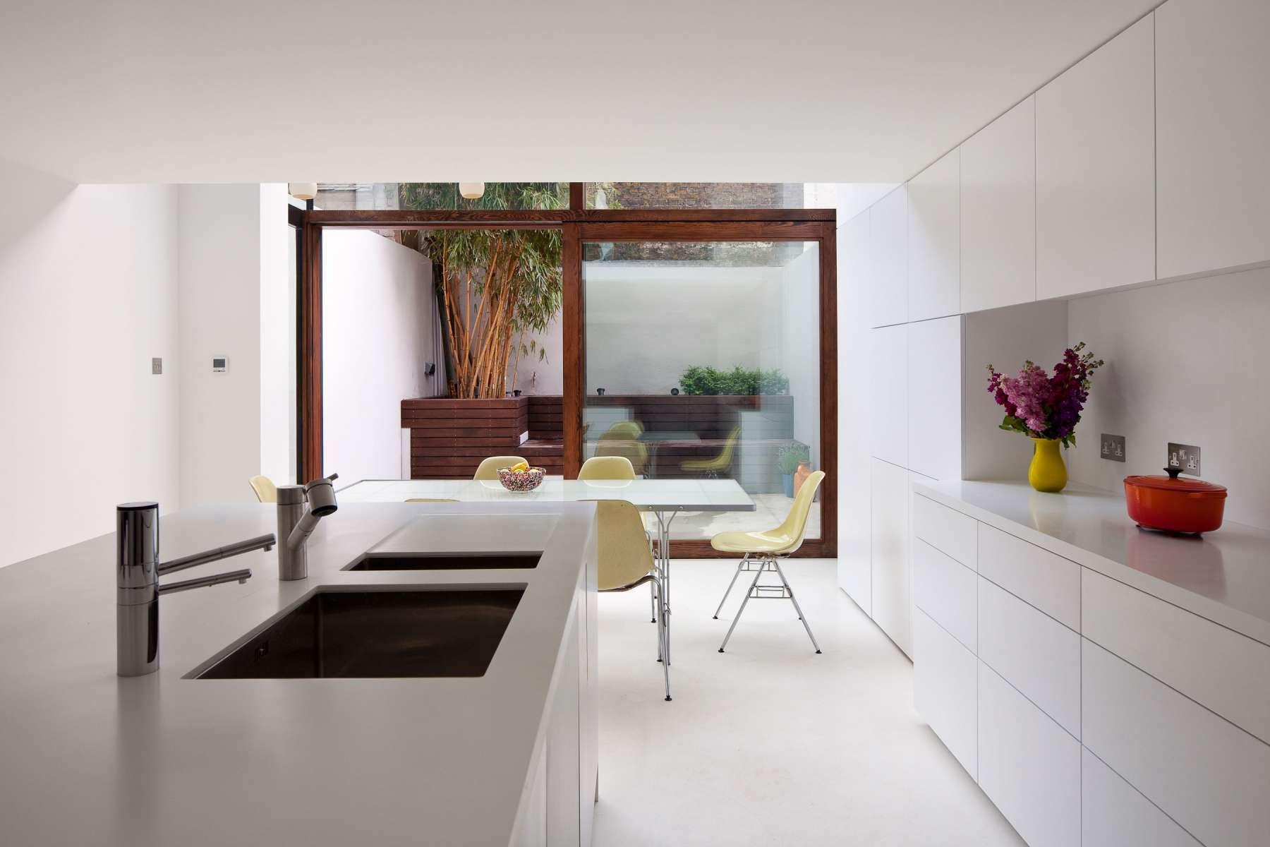 Ideen für die erweiterung der küche hoxton house u mikhail riches  ampliacion  pinterest  architektur