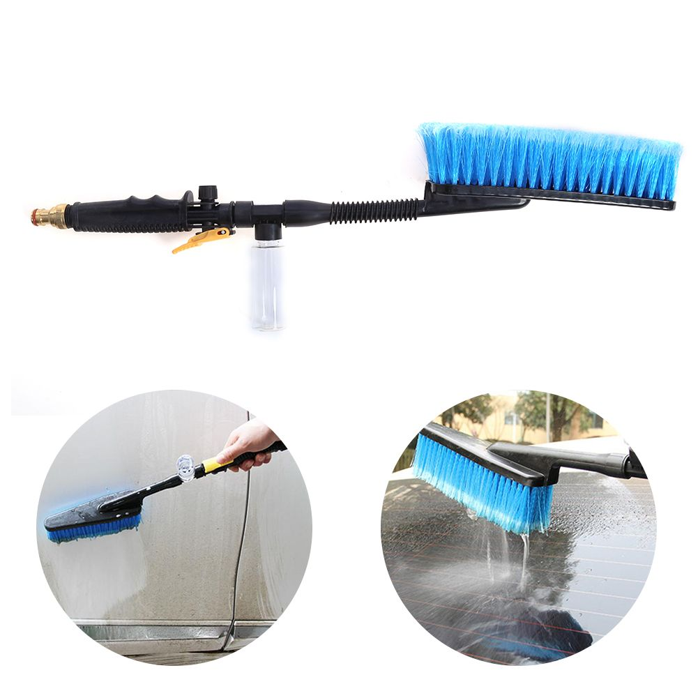 Car Wash Brush Auto Exterior Retractable Long Handle Water