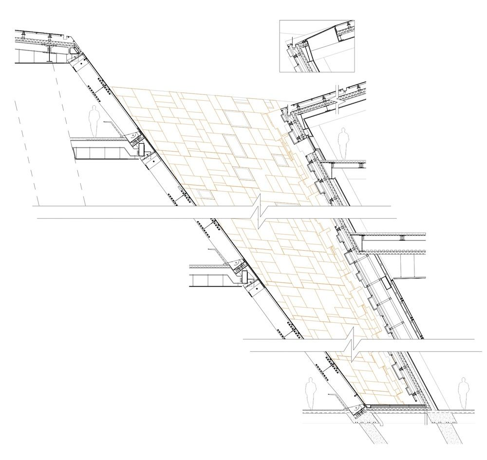 Curtain Wall With Vertical Truss Wall Section   Google Search