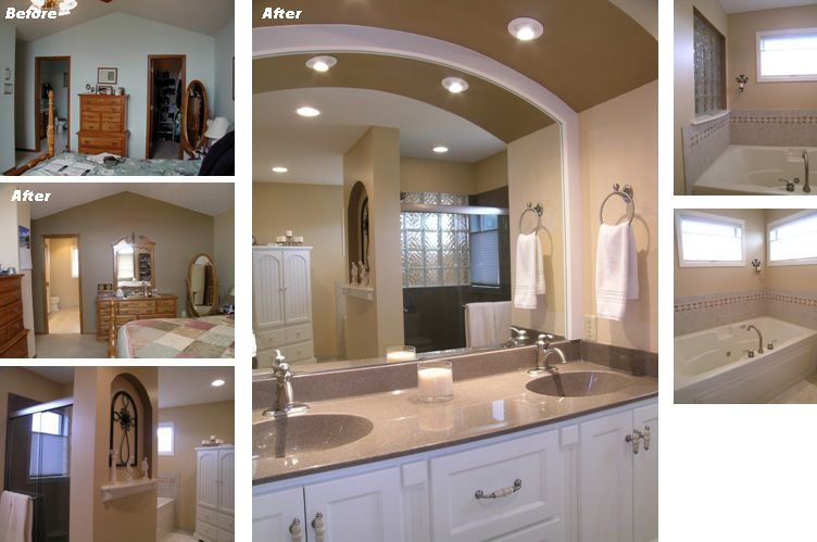 17 Best images about Vanity built in on Pinterest | Small bathroom ...