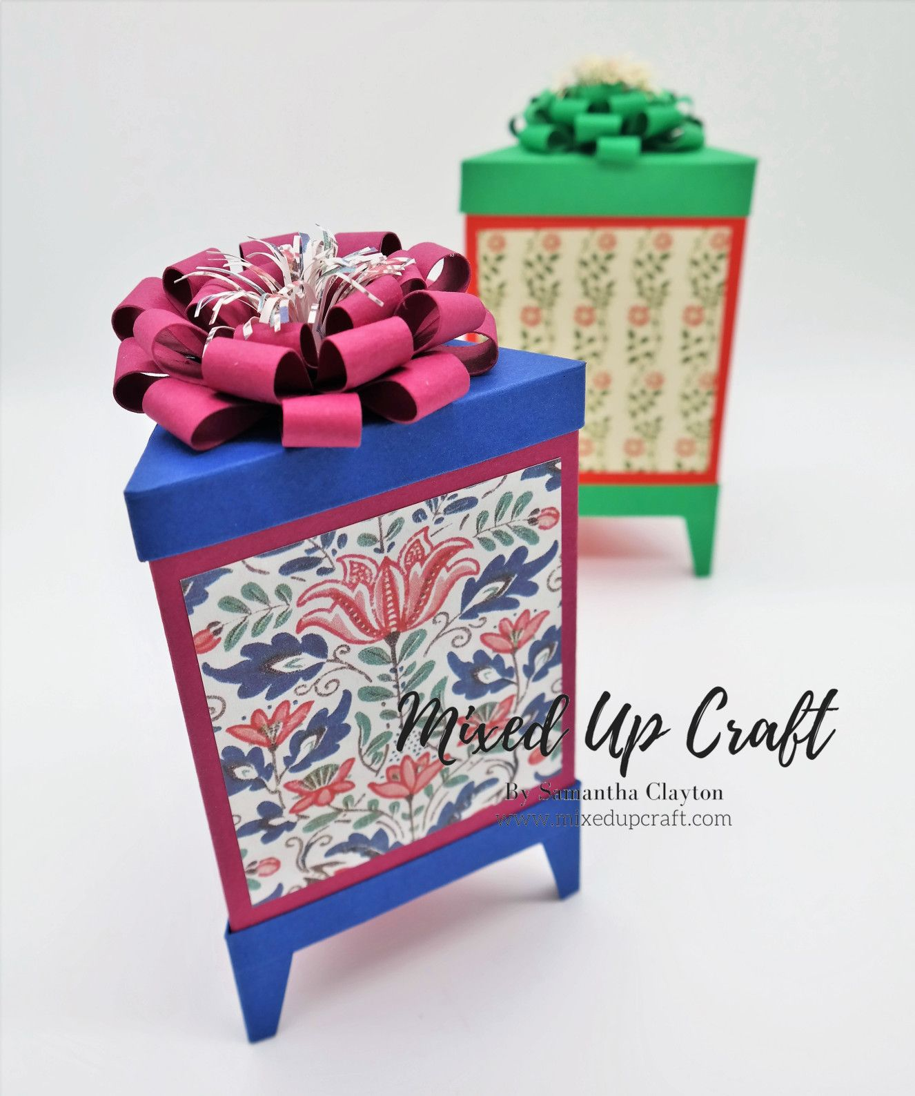 Fancy Triangular Gift Boxes Projects to Try