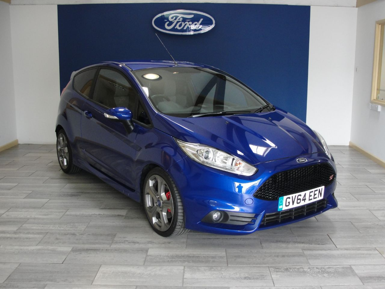 Ford Fiesta 1 6 Ecoboost St 2 3dr Hatchback Petrol Blue Used Ford Ford Fiesta Ford