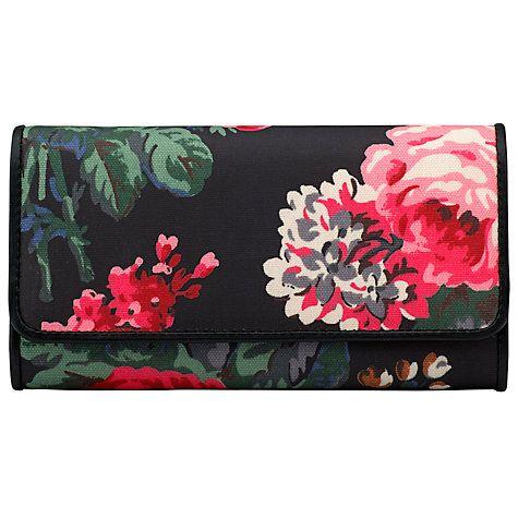 Buy Cath Kidston Bloomsbury Bouquet Bar Clutch Bag, Black Online at johnlewis.com
