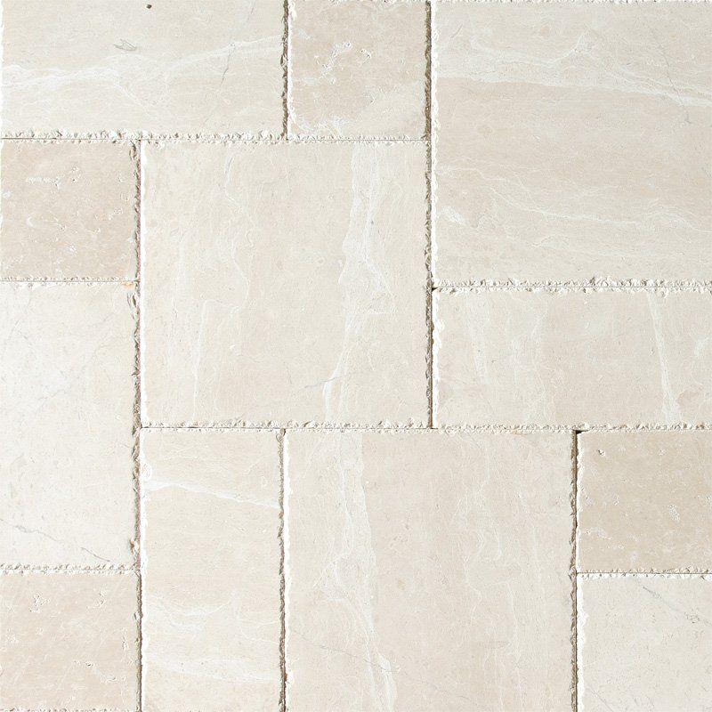 Beige Country Floors Versailles Pattern Flooring Beige Stone