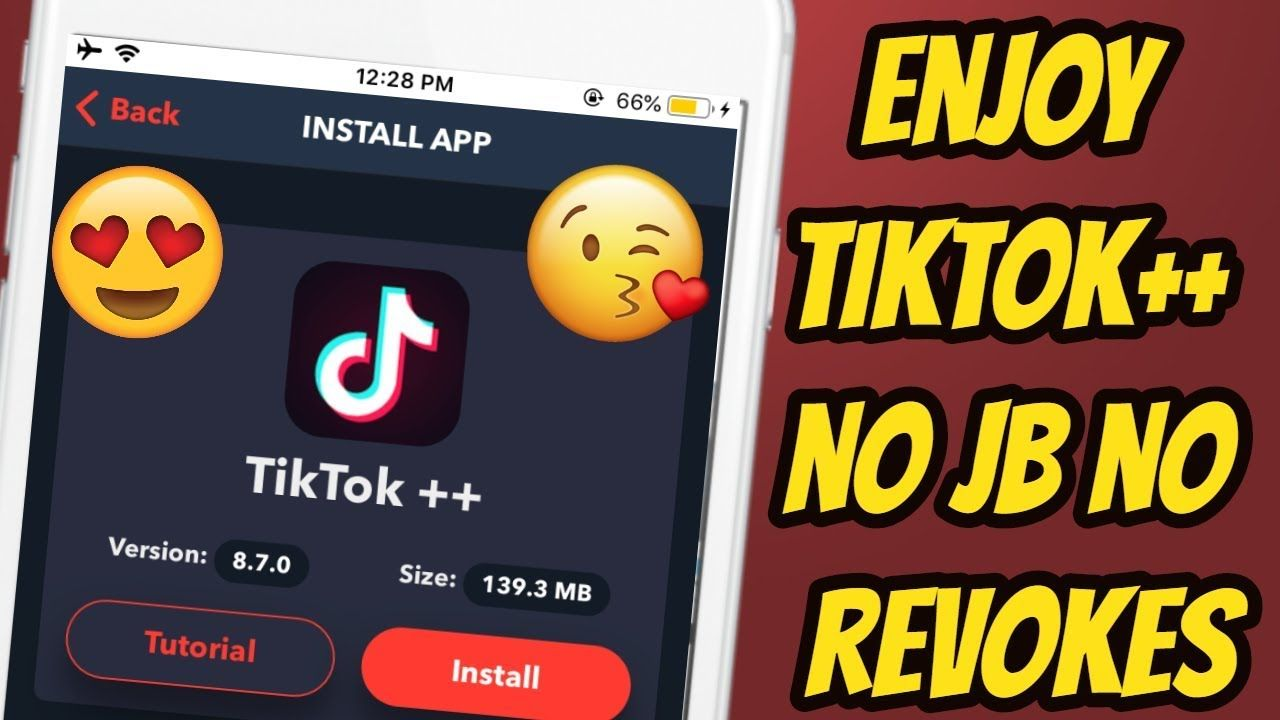 Get Tiktok++! How To Download Tiktok++ In iPhone Tweaked