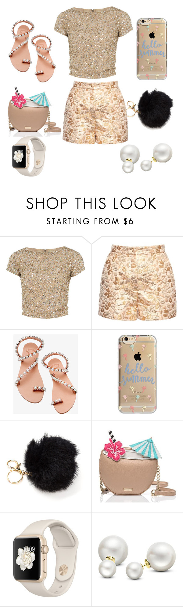 """""""Untitled #119"""" by swag345 ❤ liked on Polyvore featuring Alice + Olivia, Dolce&Gabbana, Elina Linardaki, Agent 18, Kate Spade and Allurez"""