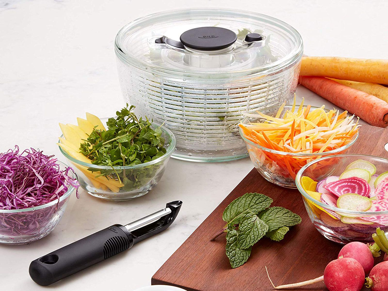 7 Odd Kitchen Gadgets Chefs Can T Live Without In 2020 Salad Spinner Good Grips Cooking Tools