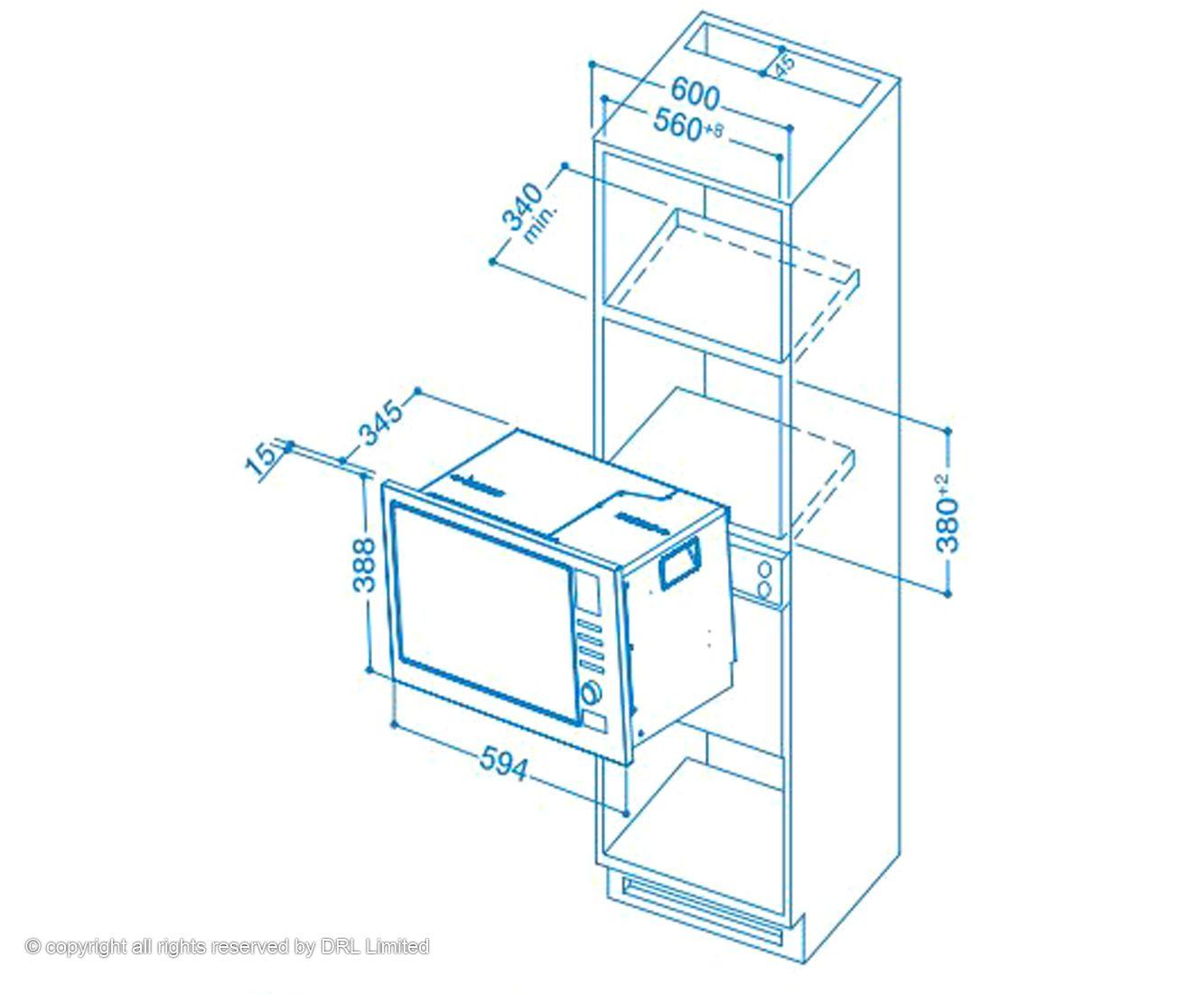 Standard Microwave Shelf Dimensions Bestmicrowave