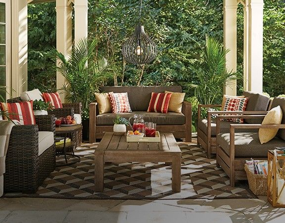 CANVAS Modena Patio Loveseat Will Add Style And Comfort To Your Outdoor  Space Part 25