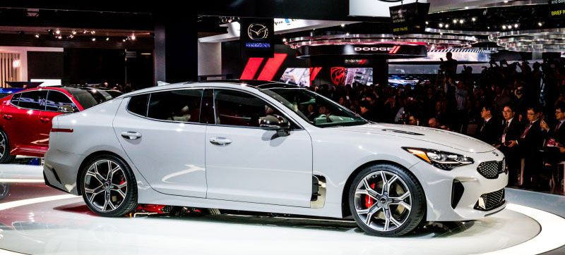 The Kia Stinger GT Can Haul Ass To MPH In Under Five Seconds - Sports cars under 60