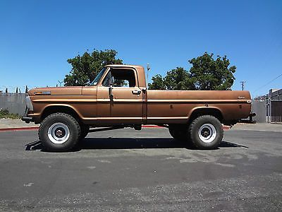 1972 Ford 4x4 1972 Ford F250 Highboy 4x4 390 V8 4spd Original Paint Great Running Classic Ford Trucks Ford Trucks Ford F250