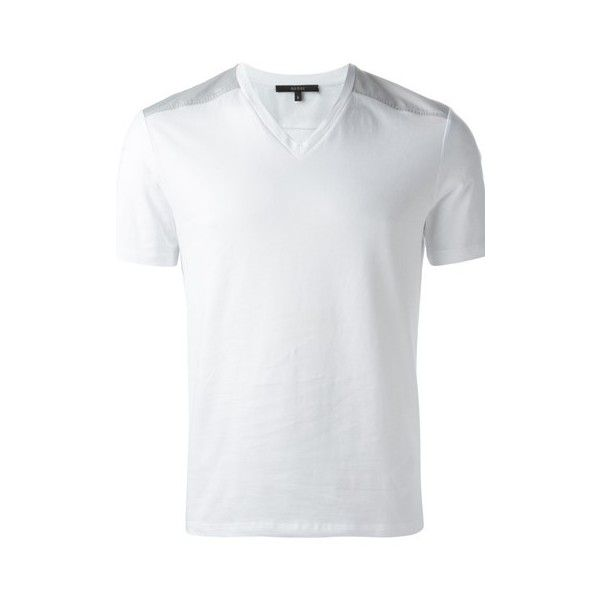 e887957da GUCCI V-Neck T-Shirt ($120) ❤ liked on Polyvore featuring men's ...