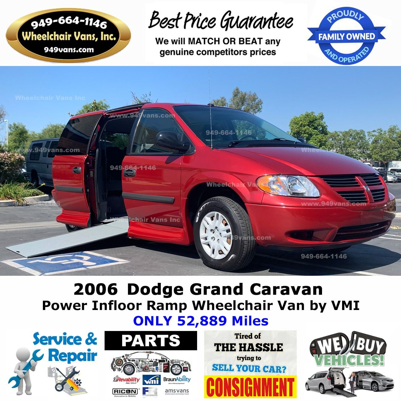 Year 2006 Make Dodge Model Grand Caravan Miles 52 889 Conversion