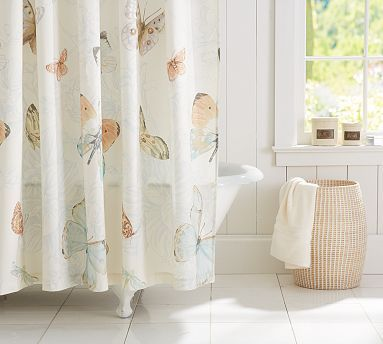 Pin By Robin Helms On Home Decor Butterfly Shower Curtain