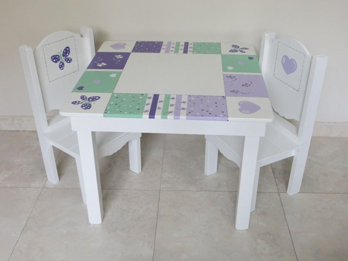 Mesas y sillas infantiles suerte para ti manualidades - Sillas infantiles ...