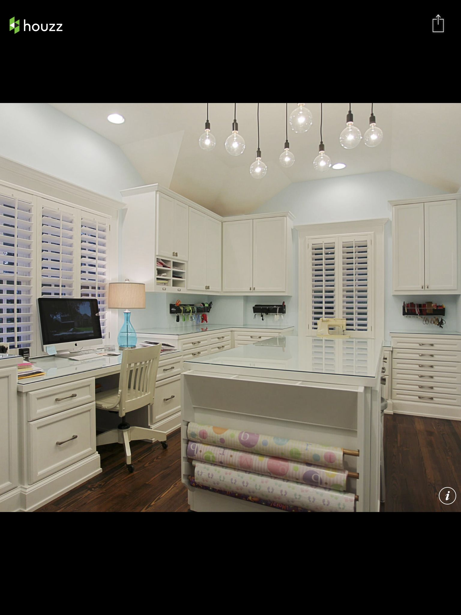 Collections Of 50 Amazing And Practical Craft Room Design Ideas And  Inspirations To See How Other People Re/designed Their Dream For The Future  Craft Room.