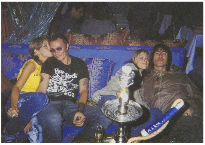 The Prodigy Liam Howlett Liam Gallagher Natalie Appleton Nicole Appleton Liam Gallagher