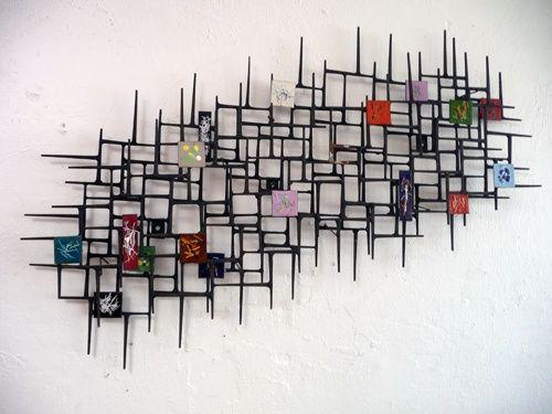 Art Photography Mid Century Wall Art Tile Wall Art Mid Century Sculpture