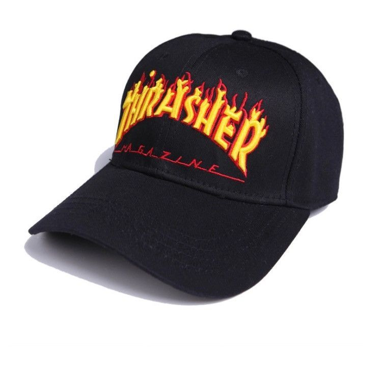 Thrasher Dad Hat Premium Adjustable Strapback  25ca5647c87