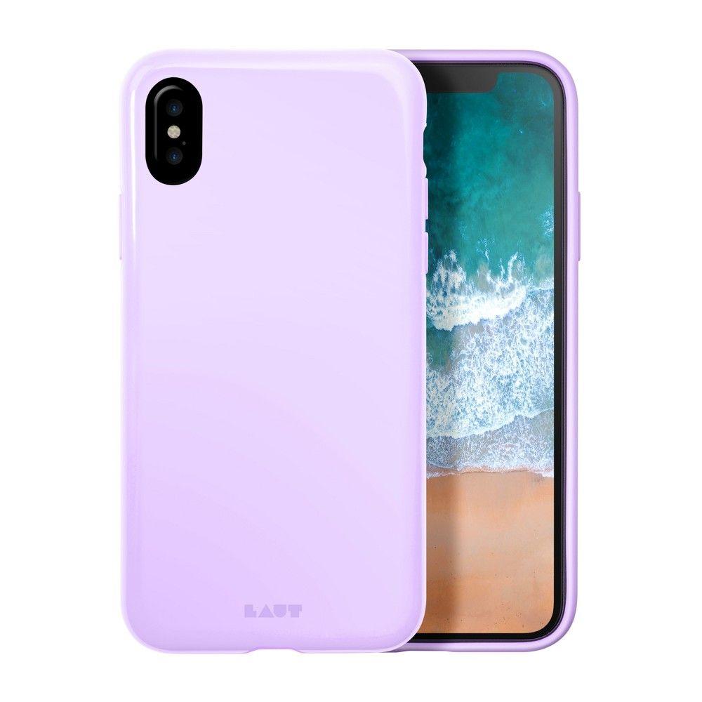 Laut iphone x case huex violet violet tint apple