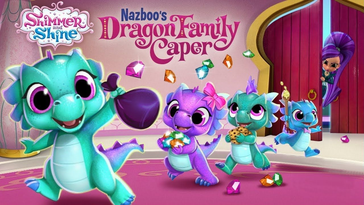 Shimmer and Shine Nazboo's Dragon Family Caper Nick Jr