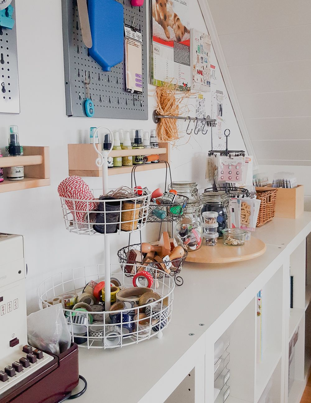 Craft Room Tour Einblick In Mein Kreativzimmer Janna Werner