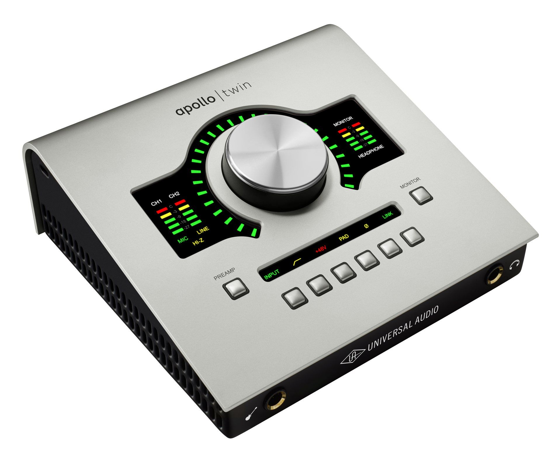 At the NAMM Universal Audio is showing off a new Apollo interface the Apollo Twin